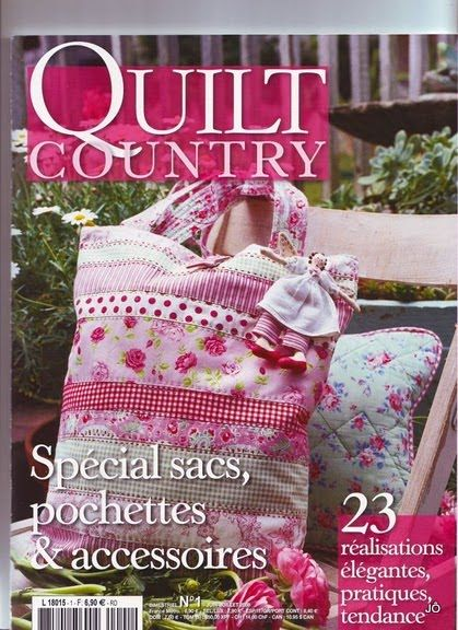 Fabric and Sewing Craft - leuk - Patchwork and quilting Tote bags. Many designs.