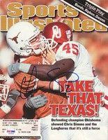 Chris Simms Autographed Magazine Cover Texas PSA/DNA #S40949