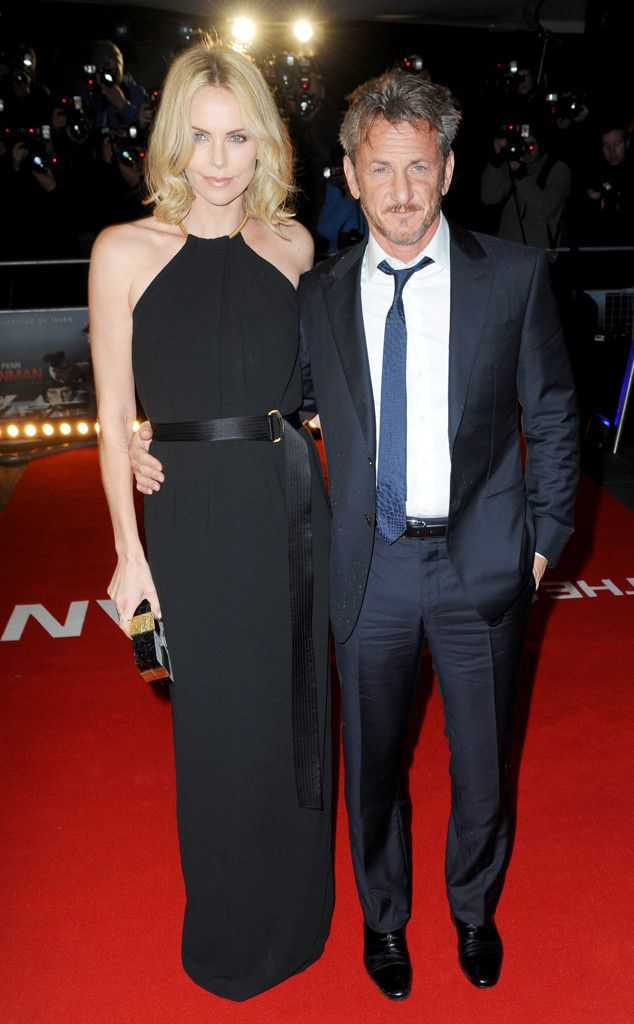 Sean Penn and Charlize Theron are perfection at the London premiere of The Gunman