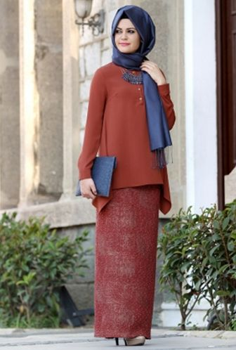 Model Baju Kebaya Muslim Simple