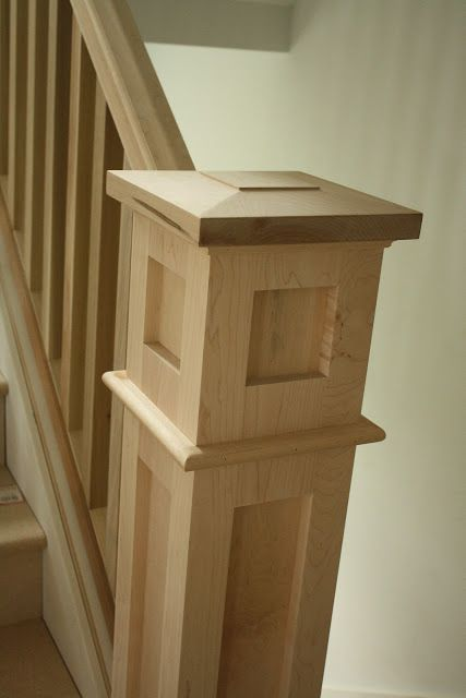 I like this stair case molding - maybe for when we build?