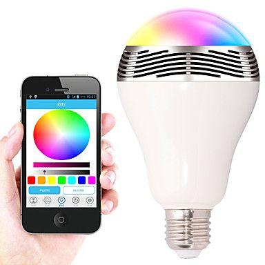 Lovely W E E Smart LED Gl hlampen A SMD lm RGB Bluetooth Abblendbar Dekorativ AC V St ck