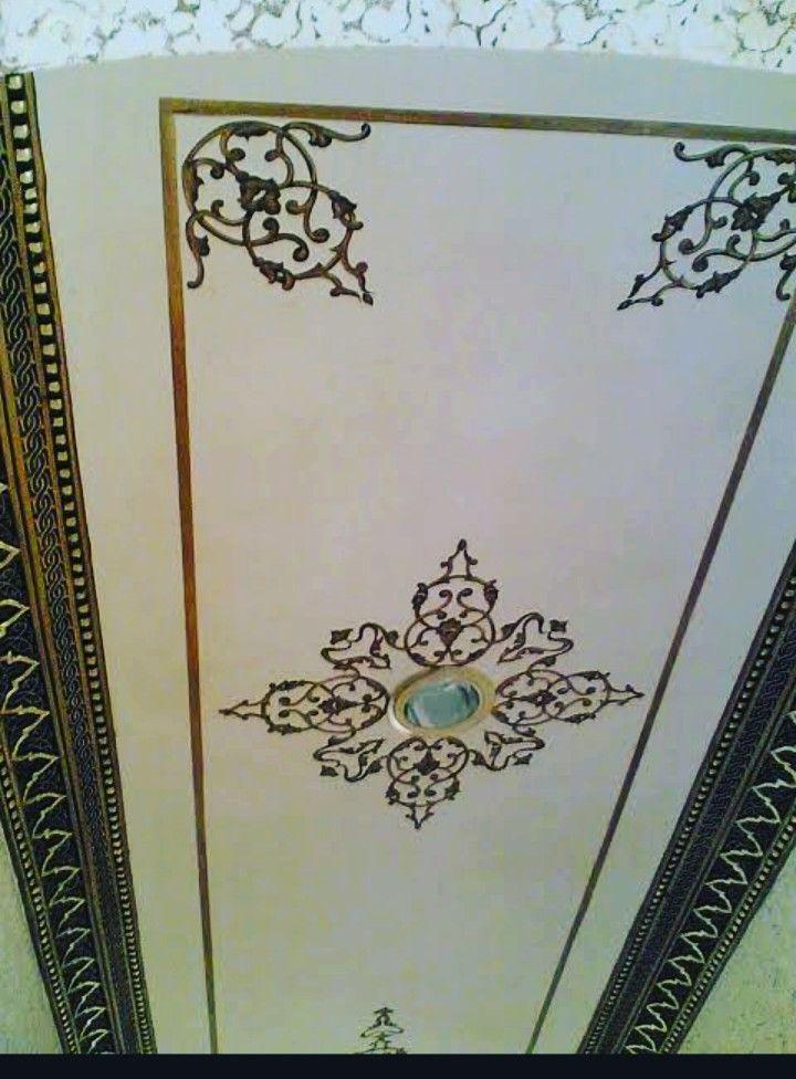 استنسل لاسقف زخرفة أندلسية مغربية إسلامية