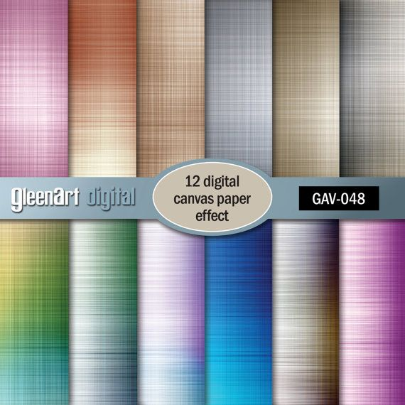 50% Canvas effect Textile effect Digital Papers  12 by GleenArt