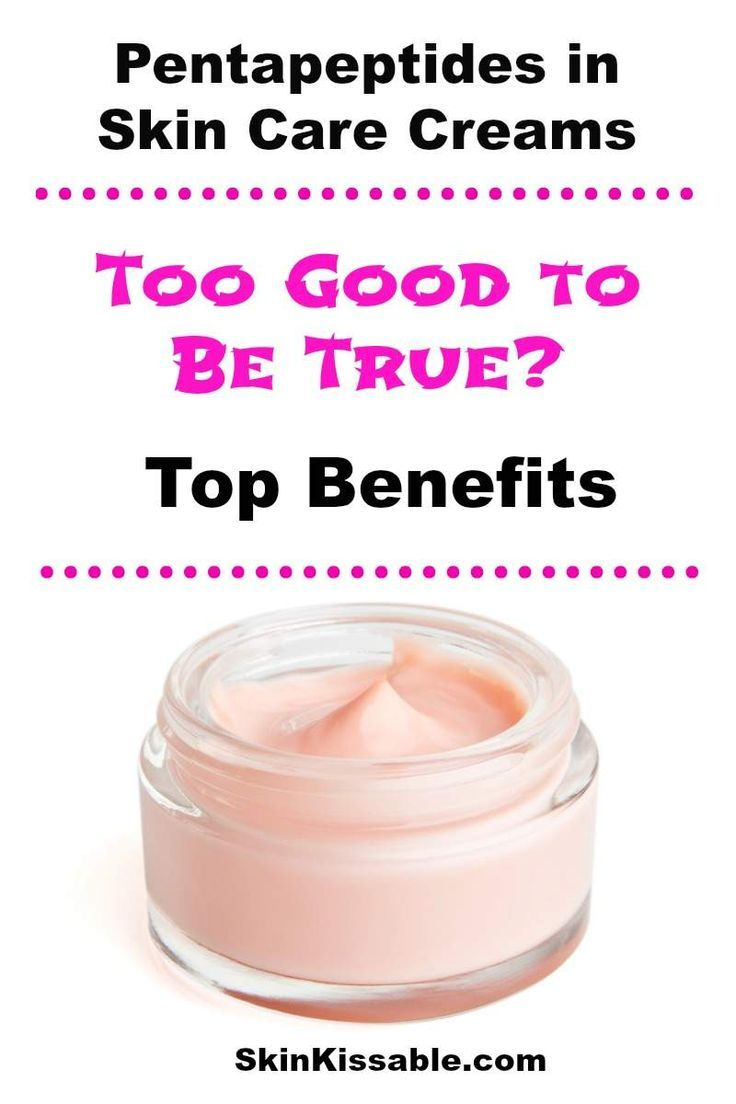 Pentapeptides In Skin Care Do They Work For Sagging Aging Skin Baking Soda Shampoo Natural Remedies Cold Sores Remedies