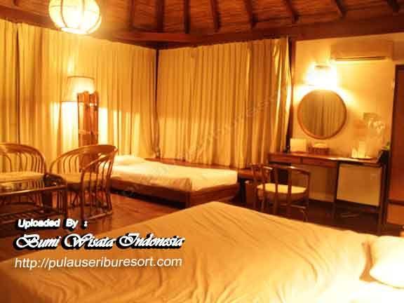 Room Cottage Pulau Pantara Resort Kepulauan Seribu