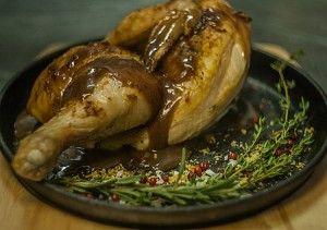 Курица с соусом