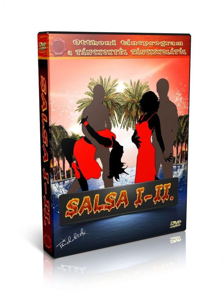 Salsa 1-2 - TÁNCOKTATÓ DVD
