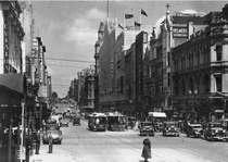 Bourke Street Melbourne 1930