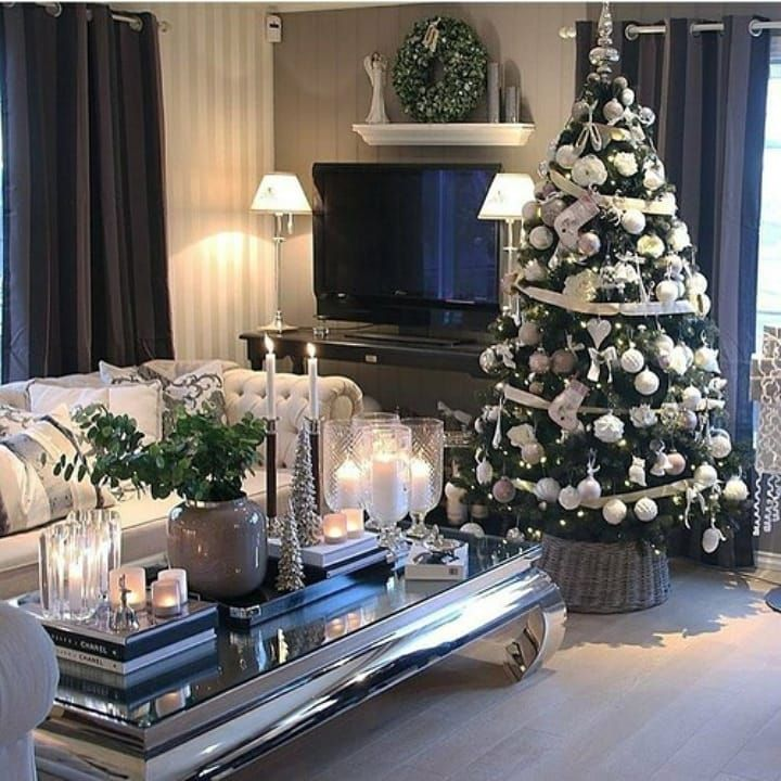 Real Christmas Trees How To Choose Is Decorated Christmas Decorations Christmas Crafts Christmas Gifts Ch Christmas Room Holiday Decor Christmas Inspiration