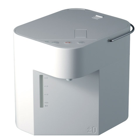 ±0 電気ジャーポット / Hot Water Dispenser