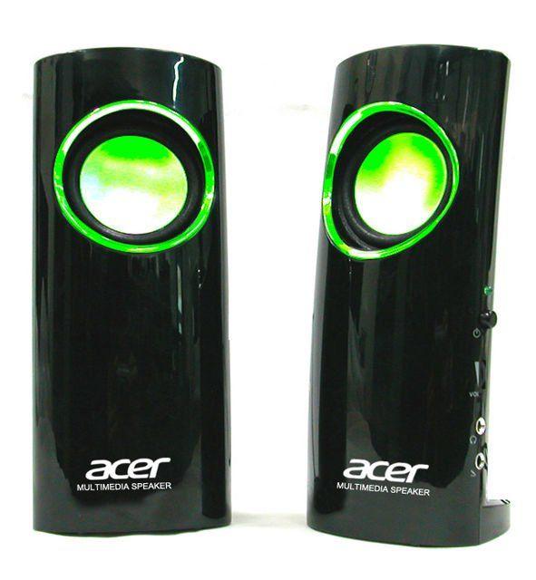 new acer desktop 2.0 acer speakers (YM-M60)