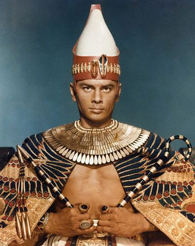 I still think he's the best looking Pharaoh ever.  King and I