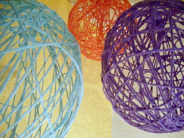 Eat. Live. Play.: DIY Yarn Globes