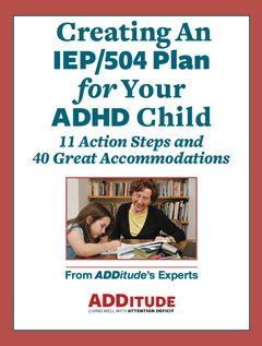 ADHD Classroom Accommodations: IEP & 504 Plans for ADD Children, Students | ADDitude - ADHD & LD Adults and Children