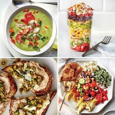 From tagliarini to golden beet couscous, try out any of these 13 recipes for some easy (and delicious) dinnertime options this summer!   Health.com
