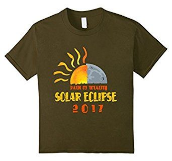 Amazon.com: PATH OF TOTALITY SOLAR ECLIPSE 2017: Clothing