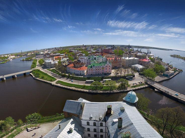 Vyborg panorama