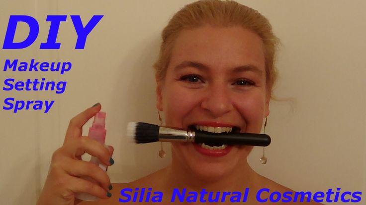 DIY: makeup setting spray