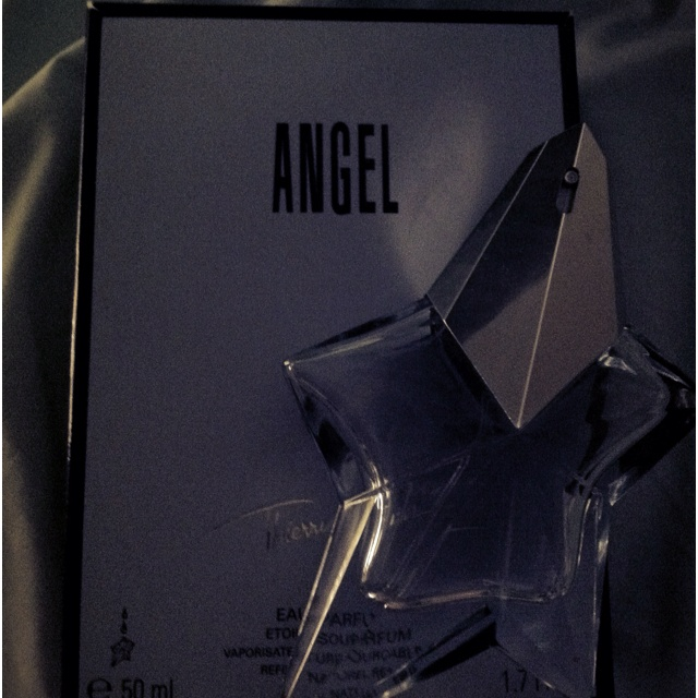 Photo-A-Day May - A smell I adore....Angel Perfume, I wore it on my wedding day :-D