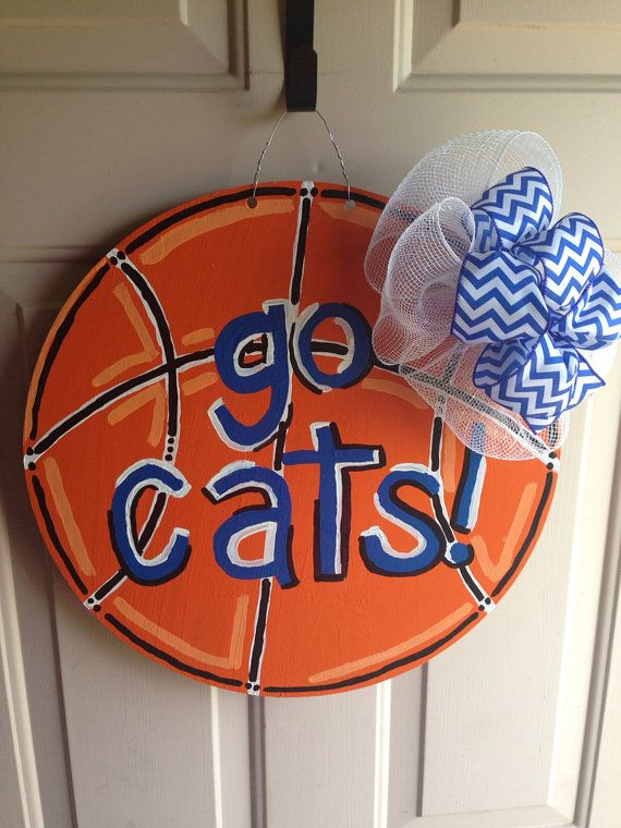 Hey, I found this really awesome Etsy listing at https://www.etsy.com/listing/193107110/basketball-door-hanger-university-of