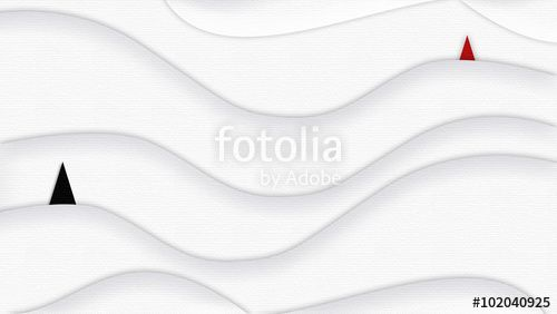 "Download the royalty-free photo ""Wave wallpaper white background. Wavy digital illustration. Abstract background with two sails a red and a black color floating on white snow wave. Art, print, web, album, texture."" created by sofiartmedia at the lowest price on Fotolia.com. Browse our cheap image bank online to find the perfect stock photo for your marketing projects!"