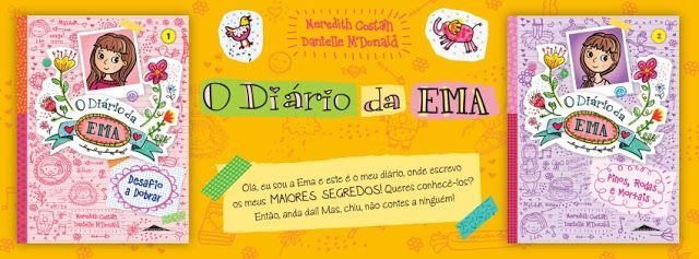 Sinfonia dos Livros: Novidade BookSmile   O diário da Ema   Espaço Infa...