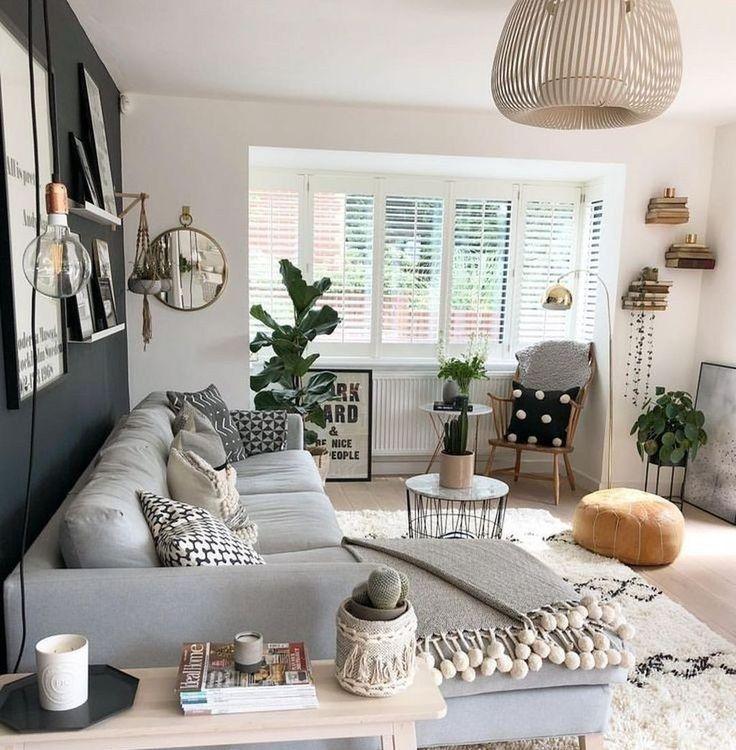 34 Easy And Simple Modern Living Room Decor Ideas Wohnzimmer Modern Wohnzimmer Dekor Kleine Wohnung Wohnzimmer