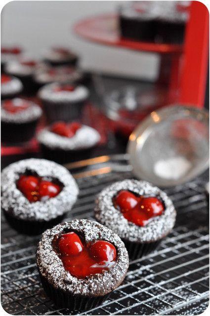 Cherry Cordial Cupcakes - Lemon Sugar