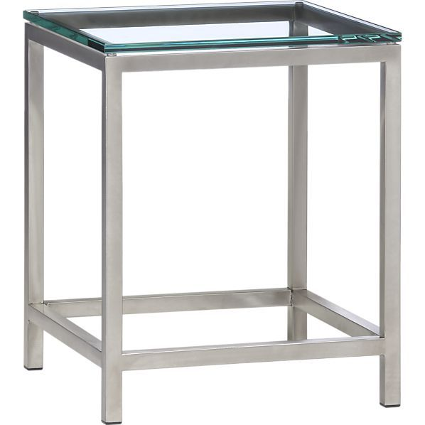 Era Side Table in Side, Coffee Tables | Crate and Barrel