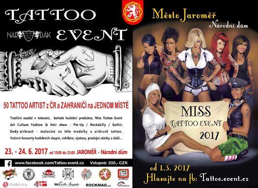 Tattoo event Jaroměř 2017 - tradiční soutěž tetování - festival tetování - tattoo convention - tattoo action