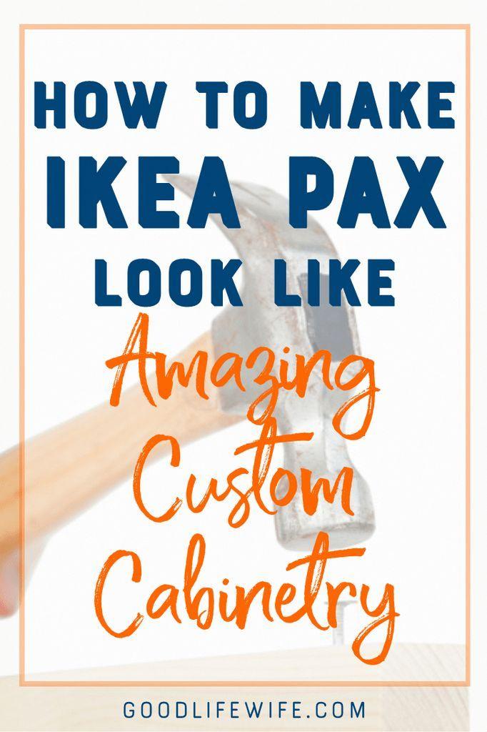 Wie man #Ikea #PAX #Pakete, #Plus #Einige #Krone #Formen #und #Baseboard #Zierleisten, #zu #g …