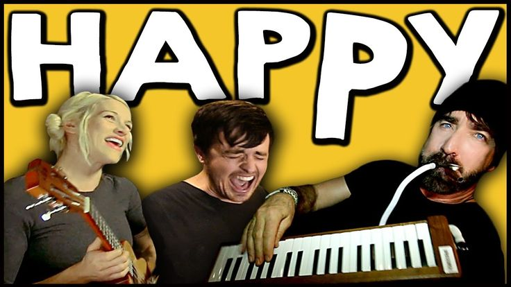 "Cover of song ""Happy"" by Fall off the Earth. I love, love love this. It just makes you feel good to watch this video."
