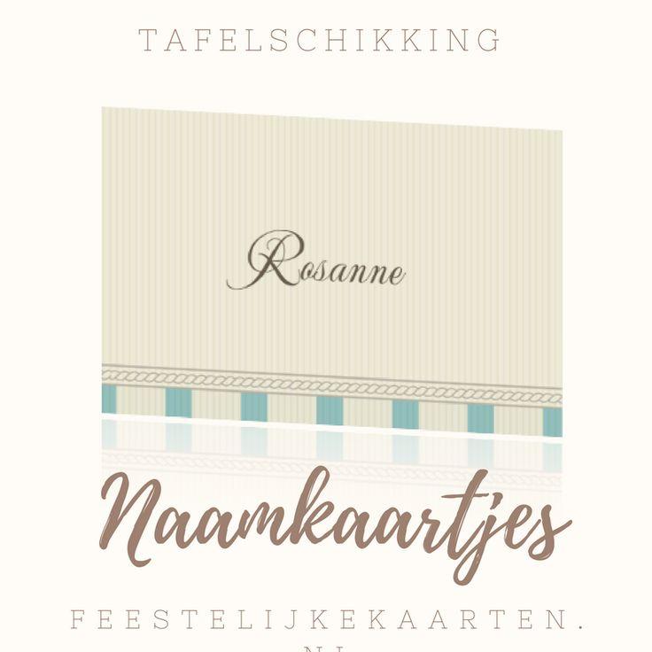Tafelkaartjes en naamkaartjes zelf maken voor diner, feest en jubileum. Maak uw eigen tafelschikking voor de bruiloft met kleine kaartjes voor op tafel.
