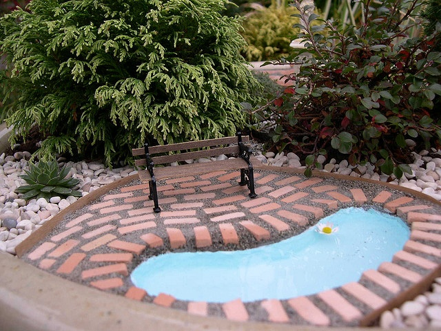 17 best images about diy fairy gardens on pinterest for Garden mini pool