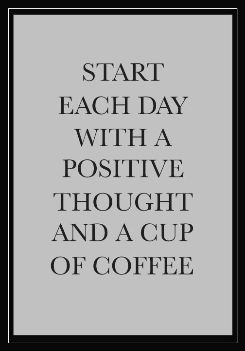 Start each day off refreshed by sipping on a smooth Nespresso coffee creation and thinking about the truly wonderful things in your life. The positive thoughts are sure to set the stage for a truly spectacular day.