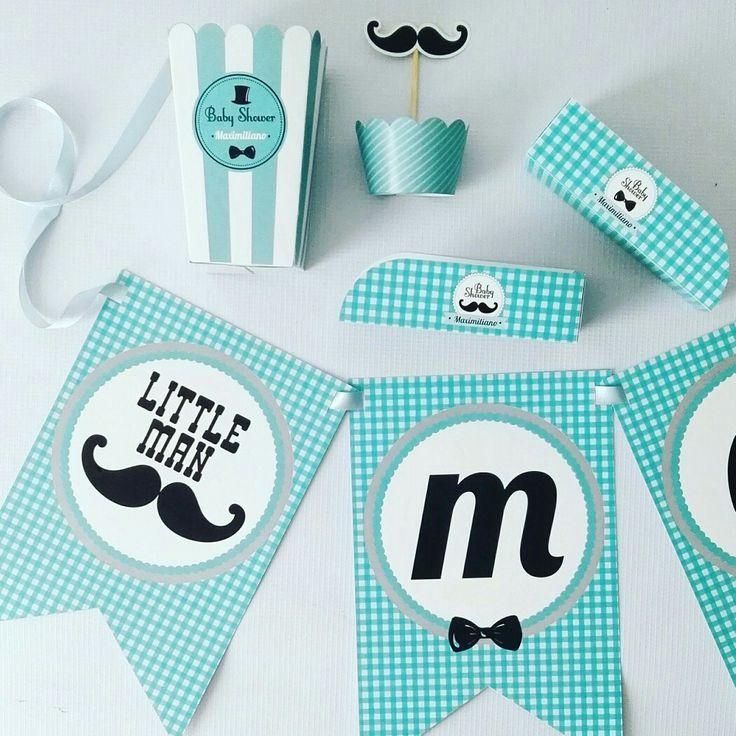 It's a boy 👦 #babyshower #littleman