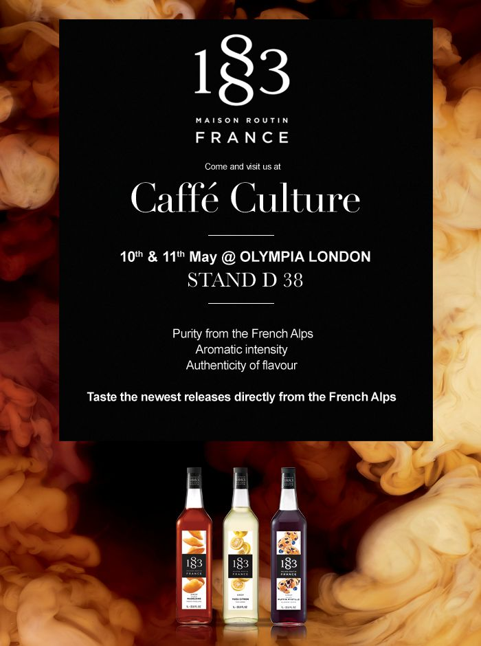 For all the Londoners among you, we hope to see you at @Caffe_Culture wednesday ;-) Come visit us!