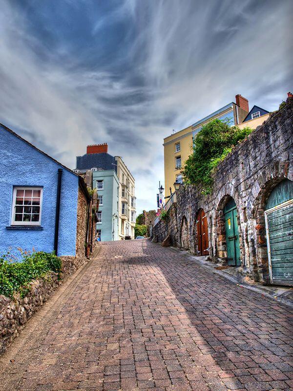 Tenby, Wales, UK