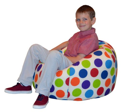 Kids Beanbag Childrens Bean Bag Chair Beans Gamer Childs Seat By Gilda