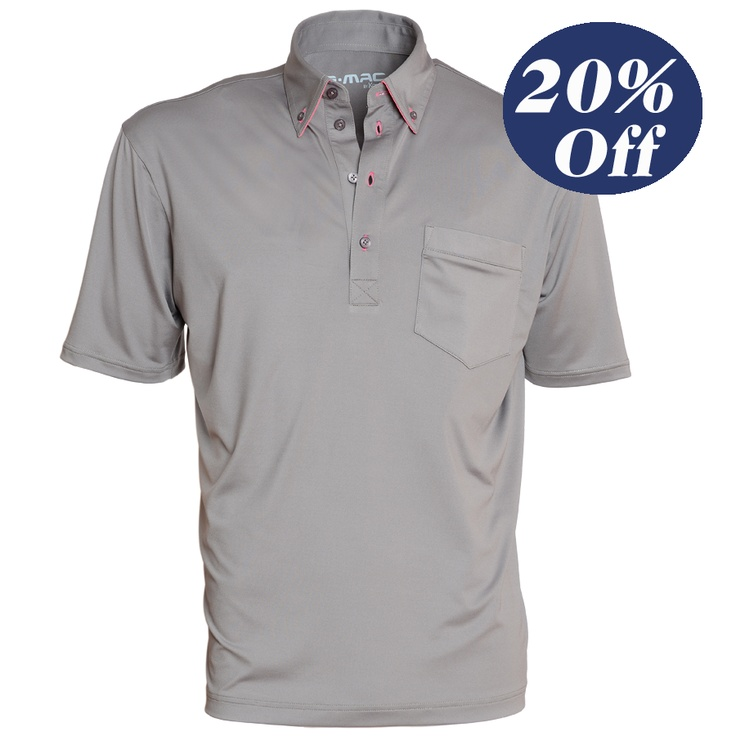 Was $80 now $64  Portrush -button down collar shirt with chest pocket