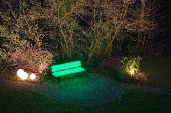 Otra idea genial para lo parques y su propio jardín. La forma mas económica de iluminacion! www.acmelight.la
