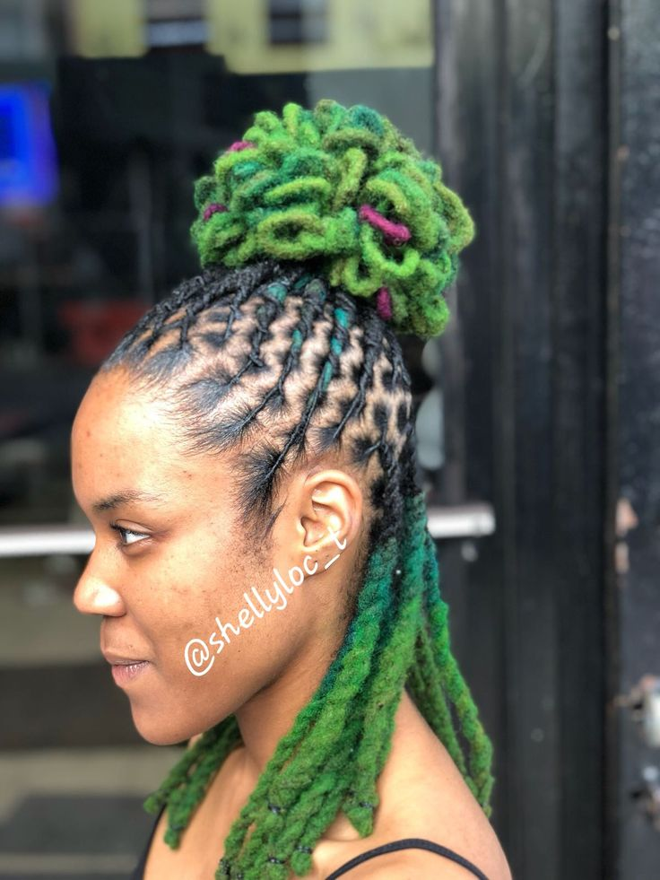 Colored Locs Dread Hairstyles Hair Styles Locs Hairstyles
