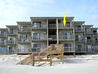 Building 5 from Beach - Topsail Reef 255 - North Topsail Beach - rentals 695 wk  limited in June