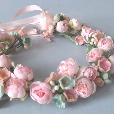 Pink Perfection millinery flowers