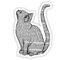 Vintage Tumblr Cat Sticker