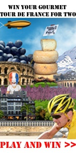 GOURMET TOUR FRANCE    The competition is running now!   Win a trip to Paris For two ! Are you greedy? Do you know the French cuisine? Take our quiz and you could be the lucky winner! click on the Following link: http://www.experiencetourdefrance.com.au/