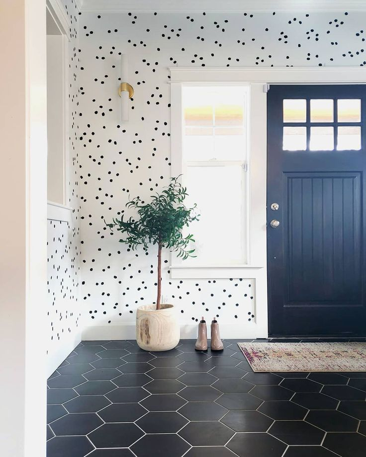 Irregular Dots In 2020 Home Wallpaper Decor Vinyl Decor