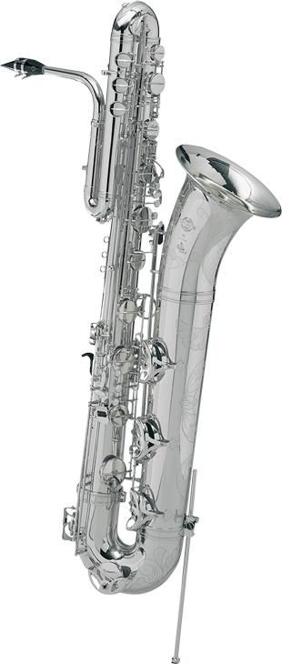 Selmer Series II Bass Saxophone - Silver Plated.
