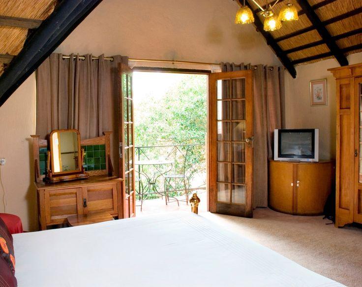 Traditional room / honeymoon suite view toward the balcony
